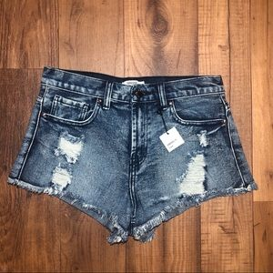Forever 21 Los Angeles High Waisted Shorts